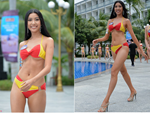 Top 45 thí sinh của Hoa hậu Hoàn vũ Việt Nam 2019 khoe body quyến rũ trong phần thi Người đẹp biển-12