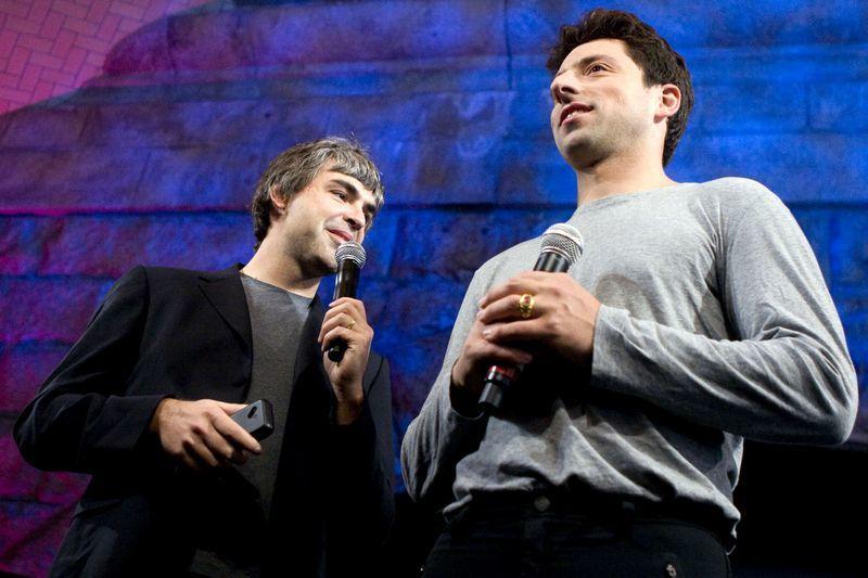 Hai đồng sáng lập Google bất ngờ từ chức-1