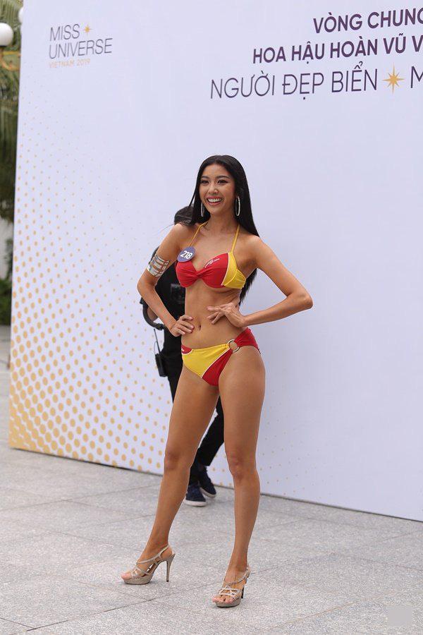 Top 45 thí sinh của Hoa hậu Hoàn vũ Việt Nam 2019 khoe body quyến rũ trong phần thi Người đẹp biển-10