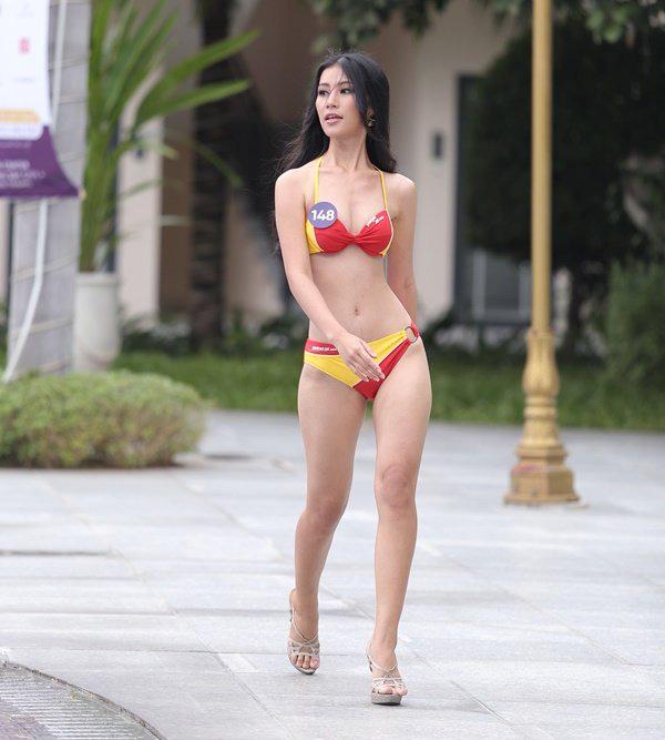 Top 45 thí sinh của Hoa hậu Hoàn vũ Việt Nam 2019 khoe body quyến rũ trong phần thi Người đẹp biển-7