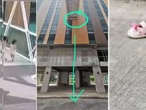 Bé gái tử vong thương tâm sau khi ngã xuống lỗ hổng trên cây cầu của tòa nhà 5 tầng