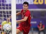Tiền đạo 17 tuổi ghi bàn vào lưới U22 Việt Nam-1