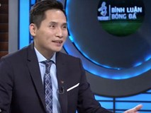Sau màn gọi cho Văn Lâm để troll Tiến Dũng, BTV Quốc Khánh đã trở lại dẫn dắt buổi bình luận trước trận Việt Nam - Thái Lan