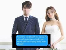 Trước khi kết hôn nhận được tin nhắn có tiết lộ động trời từ người cũ của chồng, cô dâu muốn