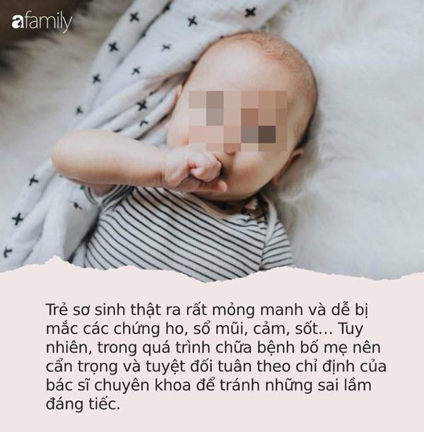 Lại có trường hợp bé gái 4 tháng tuổi tử vong sau khi chữa ho sai cách: Đâu là cách xử lý đúng nhất khi trẻ sơ sinh bị ho?-3