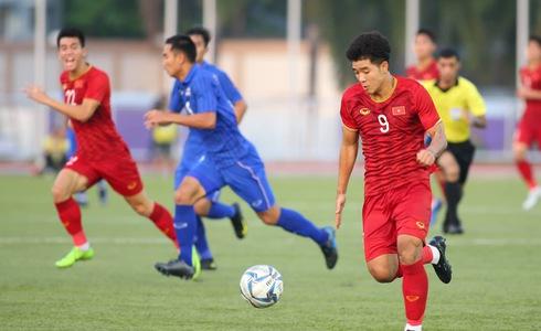 Việt Nam cho Thái Lan thành cựu vương sau trận hòa 2-2, tiến thẳng vào bán kết SEA Games với ngôi đầu bảng-4