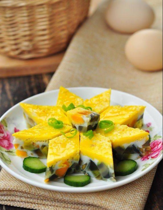 Có ba quả trứng, mẹ hô biến thành món sang chảnh, ai nhìn cũng tưởng món cung đình-5