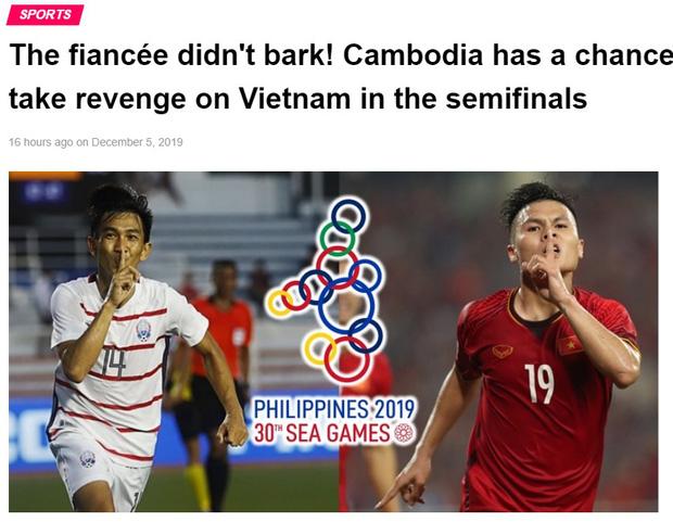 Báo Campuchia gáy mạnh: Cơ hội trả thù bóng đá Việt Nam đã đến!-1