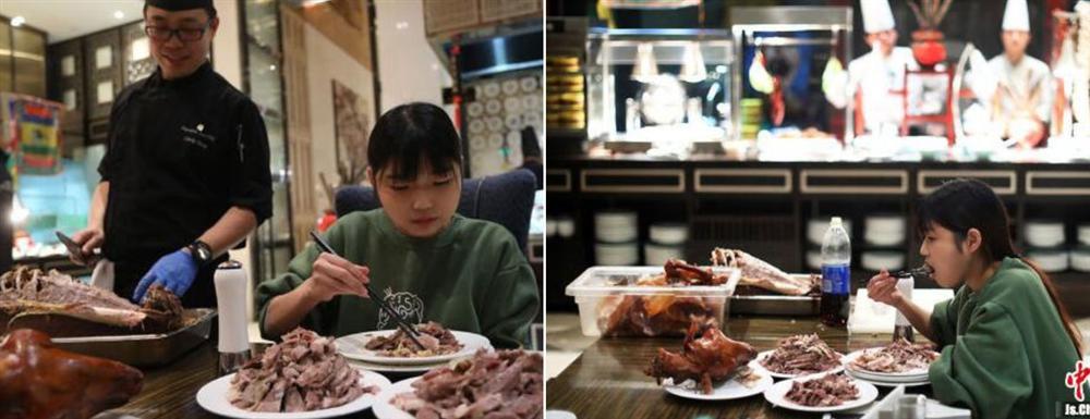 Cô gái bị loạt nhà hàng buffet cấm cửa vì ăn quá nhiều-1