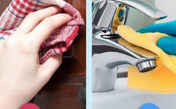 5 sai lầm khi dọn dẹp khiến nhà càng dọn càng bẩn, rước thêm bệnh vào người-1