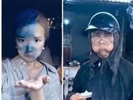 Dân mạng cãi nhau kịch liệt khi thấy ảnh Midu 'cosplay' nhân vật cầm đầu gà: Là tài khoản fake hại Midu hay do cô nàng cũng giỡn quá đà?