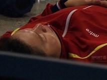 Ánh Viên ngủ ngon lành dưới sàn đất trước khi giành 2 HCV liên tiếp tại SEA Games 2019