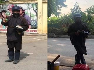 Sau Công an Hà Nội đến Công an Hải Phòng ra cảnh báo về người đàn ông mặt đen, tay cầm đầu gà bí hiểm đi xin tiền