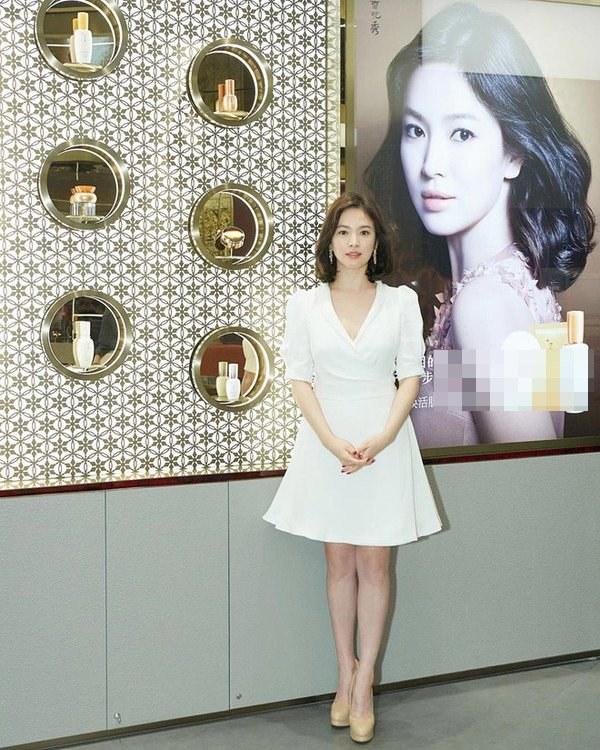 Việt Nam có Nhã Phương thì Hàn Quốc có Song Hye Kyo luôn ghi điểm với đồ trắng-2