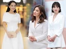 Việt Nam có Nhã Phương thì Hàn Quốc có Song Hye Kyo luôn ghi điểm với đồ trắng