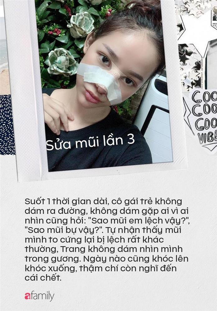 """Câu chuyện kinh hãi"""" của cô gái nâng mũi 4 lần đến mức hết sạch sụn tai, từng trầm cảm, muốn chết vì phẫu thuật hỏng-4"""