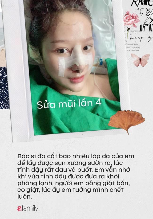 """Câu chuyện kinh hãi"""" của cô gái nâng mũi 4 lần đến mức hết sạch sụn tai, từng trầm cảm, muốn chết vì phẫu thuật hỏng-5"""