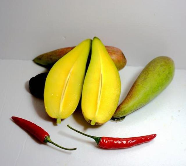 Tận mục quả xoài nhìn xa ngỡ trái ớt, hạt nhỏ như que tăm gây sốt-6