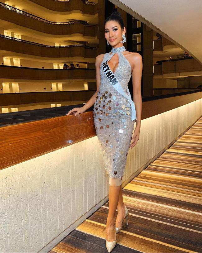 Hoàng Thùy tại Miss Universe 2019: Trang phục đầu tư đã đành, giày cao gót cũng chưa đôi nào đi lại lần 2 kể từ khi sang Mỹ-4