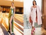 Trang phục dạ hội lấy cảm hứng từ giọt hoa tuyết của Hoàng Thuỳ tại Miss Universe 2019-7