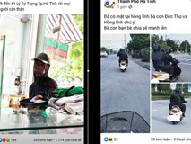 """Sự thật nhóm ăn xin """"mặt đen"""" xuất hiện tại Nghệ An và Hà Tĩnh"""