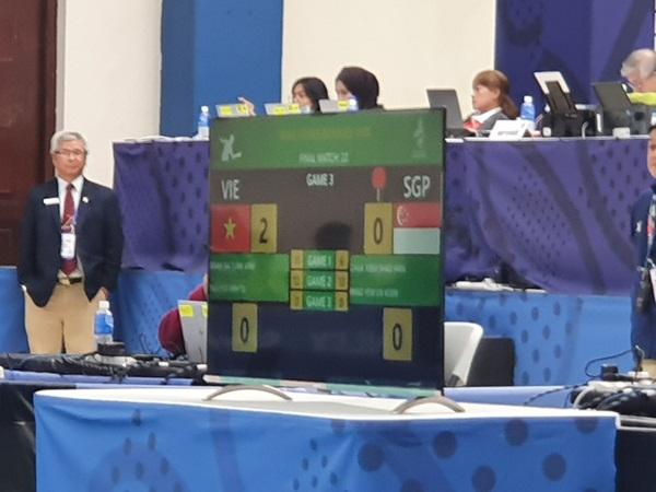 Bóng bàn Việt Nam lật đổ Singapore, giành HCV SEA Games sau 10 năm chờ đợi-4