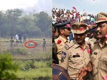 Vụ nữ bác sĩ bị cưỡng hiếp, đốt xác: Cảnh sát nổ súng giết chết 4 nghi phạm cố tình bỏ trốn, 300 người dân tung hoa vui mừng tại hiện trường
