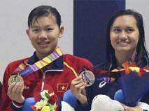 Vượt qua đối thủ mạnh đến từ Singapore, Ánh Viên giành huy chương vàng thứ 5 tại SEA Games