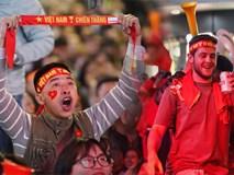U22 Việt Nam đả bại U22 Campuchia với 4 bàn không gỡ, CĐV sung sướng reo hò: