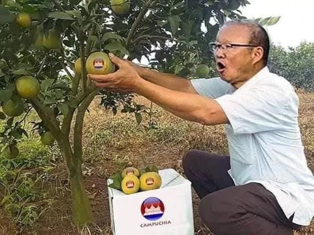 Cười bể bụng xem ảnh chế Đức Chinh nhấc bổng Campuchia-6