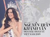 Chính thức: Nguyễn Trần Khánh Vân là Tân Hoa hậu Hoàn vũ Việt Nam 2019