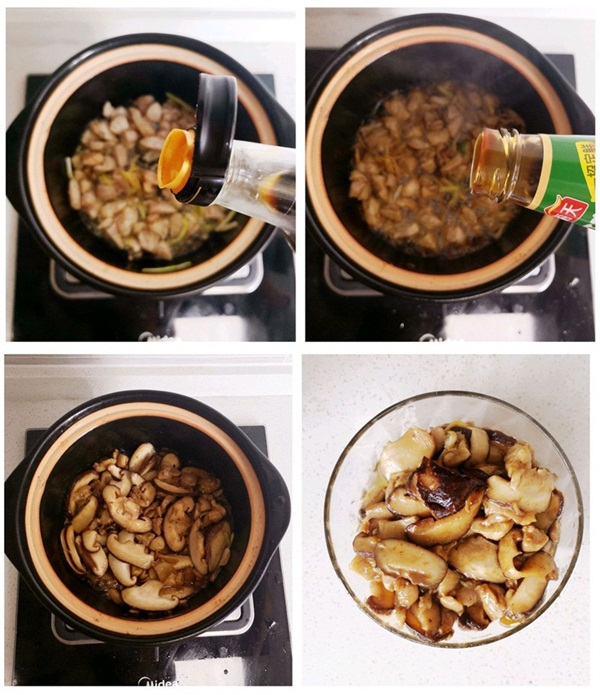 Tuần nào tôi cũng phải nấu một nồi cháo gà nấm vì vừa ngon vừa bổ, mùa đông ăn hợp vô cùng-3