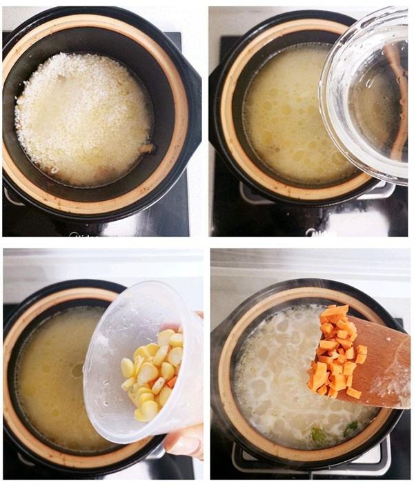 Tuần nào tôi cũng phải nấu một nồi cháo gà nấm vì vừa ngon vừa bổ, mùa đông ăn hợp vô cùng-4