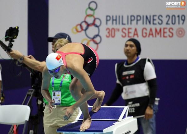Mặt buồn xo nhận HCV thứ 5 tại SEA Games 2019, Ánh Viên bị nhắc nhở-1