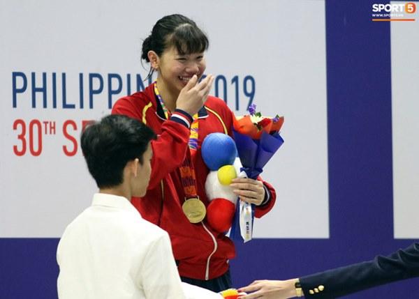 Mặt buồn xo nhận HCV thứ 5 tại SEA Games 2019, Ánh Viên bị nhắc nhở-7