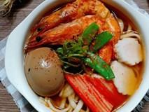 Cuối tuần đổi món với mì hải sản kiểu Nhật ngon nhức nhối không thua nhà hàng