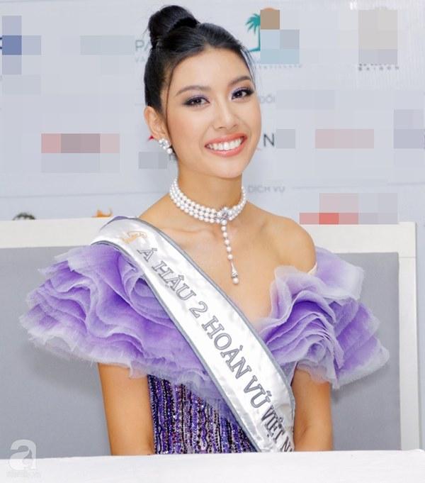 Vụt mất danh hiệu cao nhất, Thúy Vân vẫn làm điều này với Tân Hoa hậu và Á hậu 1-1