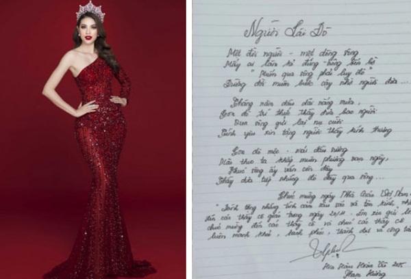 Chữ viết tay đỉnh như đánh máy của dàn Hoa hậu Việt: Phạm Hương cũng phải chào thua trước Nguyễn Trần Khánh Vân và Lương Thuỳ Linh-3