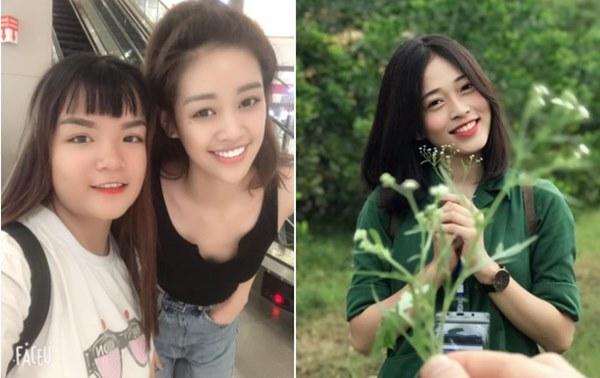 Vẻ ngoài giống nhau khó tin của Hoa hậu Khánh Vân và Á hậu Phương Nga-2