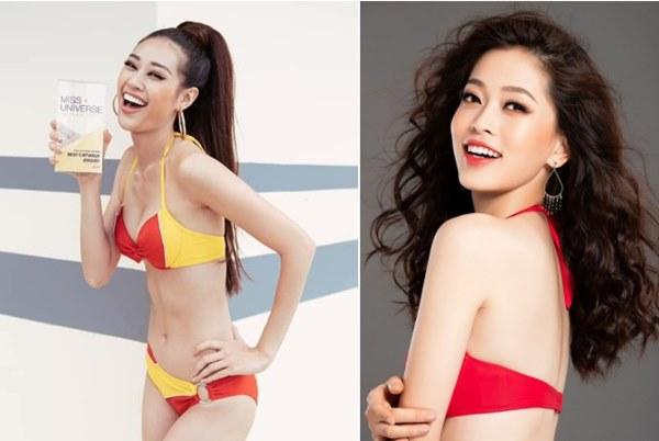 Vẻ ngoài giống nhau khó tin của Hoa hậu Khánh Vân và Á hậu Phương Nga-4