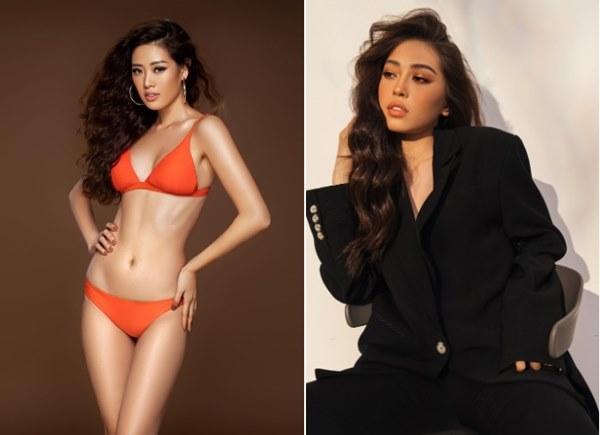 Vẻ ngoài giống nhau khó tin của Hoa hậu Khánh Vân và Á hậu Phương Nga-5