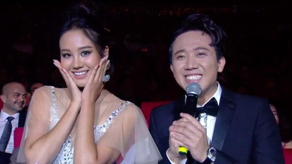 Trấn Thành ngượng khi không hiểu lời phát biểu của Hoa hậu Hàn Quốc-1