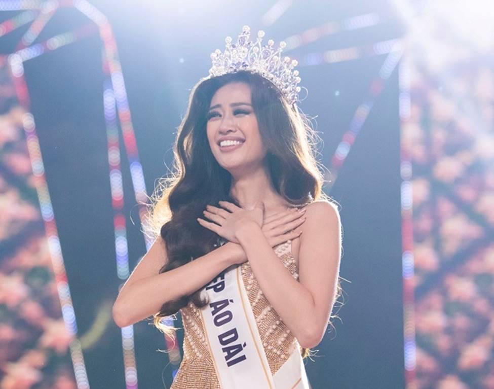 Cận cảnh nhan sắc nóng bỏng của Top 3 Hoa hậu Hoàn vũ Việt Nam-1