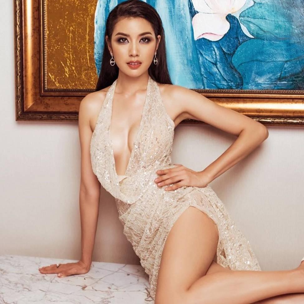 Cận cảnh nhan sắc nóng bỏng của Top 3 Hoa hậu Hoàn vũ Việt Nam-18