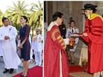 Hoàng hậu Thái Lan biến hóa liên tục sau khi Hoàng quý phi bị phế truất, khoe vẻ đẹp cá tính trong sự kiện mới nhất-7
