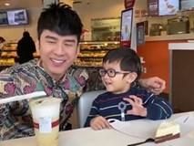 Con trai Đan Trường hát mừng sinh nhật cha