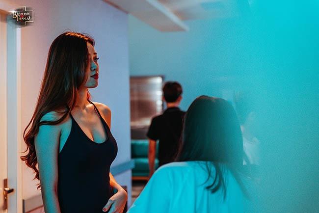 Tân Hoa hậu Hoàn vũ Khánh Vân không ngại đóng vai gợi cảm-5