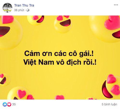Cộng đồng mạng vỡ òa trước chiến thắng quá tuyệt vời của đội tuyển quốc gia nữ Việt Nam, ai cũng khóc vì hạnh phúc tự hào-7