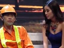 Hoa hậu Hoàn vũ Việt Nam Khánh Vân đóng hài cùng Hoài Linh