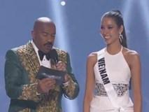 Hoàng Thùy xuất sắc với câu trả lời phỏng vấn Miss Universe bằng ca dao tục ngữ: